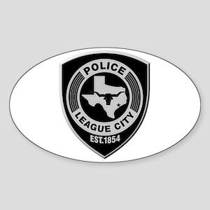 League City Police Sticker