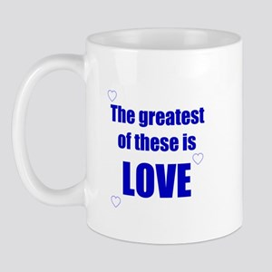 BLUE LOVE Mug