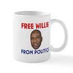 Free Willie From Politics Mug