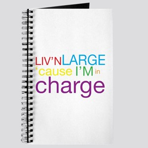 Livn Large cause Im in Charge Journal