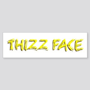 Thizz Face Bumper Sticker
