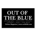 Out Of The Blue Sticker