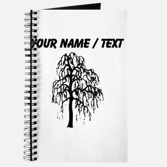 Custom Willow Tree Journal