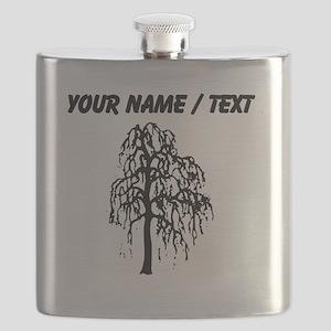 Custom Willow Tree Flask