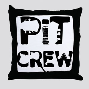 Band Pit Crew Throw Pillow