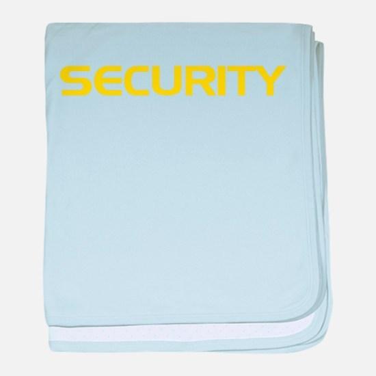 Security baby blanket