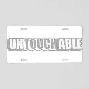 unTOUCHable Aluminum License Plate