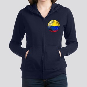 Colombia Soccer Ball Zip Hoodie