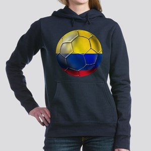 Colombia Soccer Ball Hooded Sweatshirt