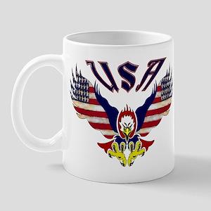 'Eagle w/ Flag Wings (USA)'  Mug