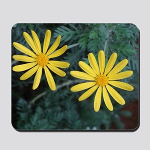 Yellow Flowers Mousepad