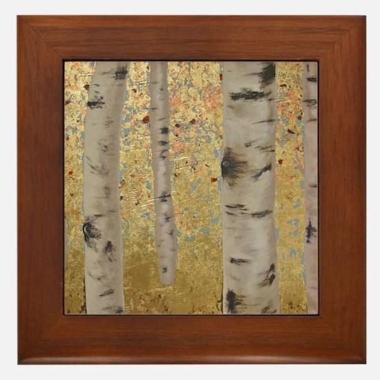 Ghosts Of Autumn Framed Tile