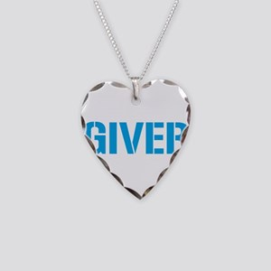 Giver Necklace Heart Charm