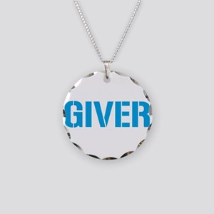 Giver Necklace Circle Charm