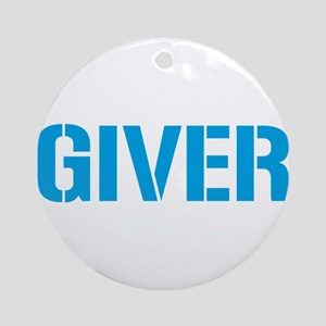 Giver Ornament (Round)