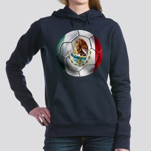 Mexican Soccer Ball Hooded Sweatshirt