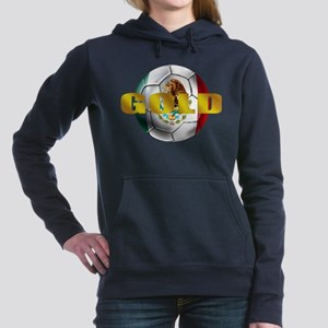 Mexico Soccer Gold Hooded Sweatshirt