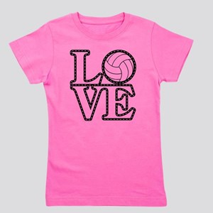 Love Vollebyabll Girl's Tee