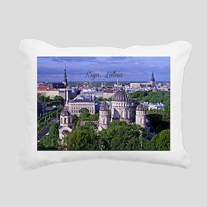 Riga, Latvia Rectangular Canvas Pillow