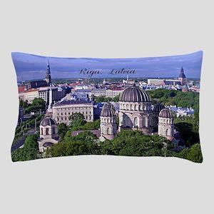 Riga, Latvia Pillow Case