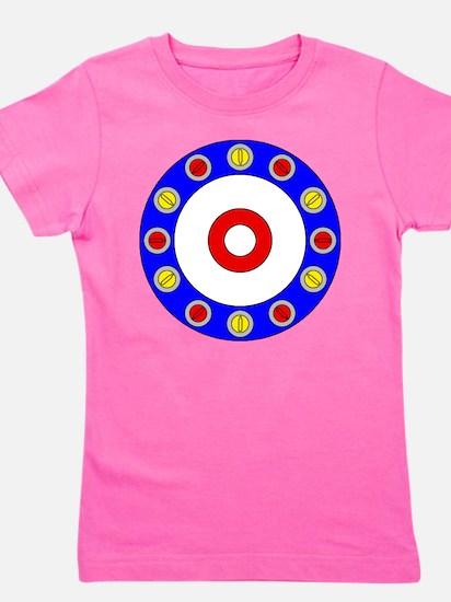 Curling Clock.png Girl's Tee