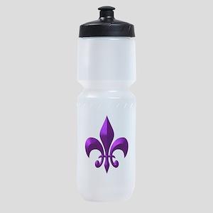 Purple Metallic Sports Bottle