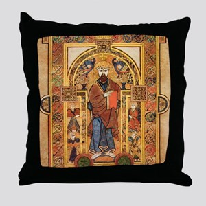 Book of Kells Throw Pillow
