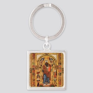 Book of Kells Square Keychain