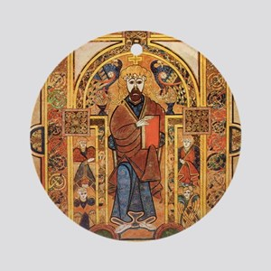 Book of Kells Round Ornament