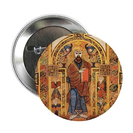 """Book of Kells 2.25"""" Button"""