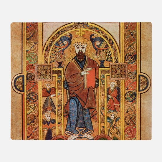 Book of Kells Throw Blanket