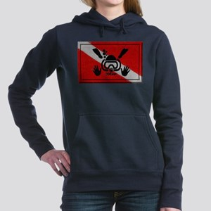 iDive Flag Rectangle 2012 Hooded Sweatshirt