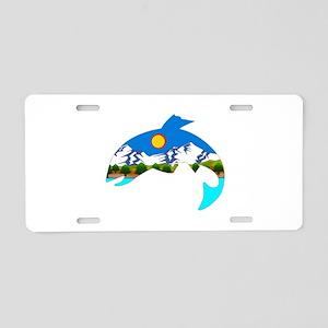 SPORT Aluminum License Plate