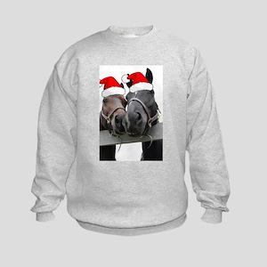 Christmas Horses Sweatshirt