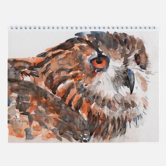 Birds - 12-Page Wall Calendar