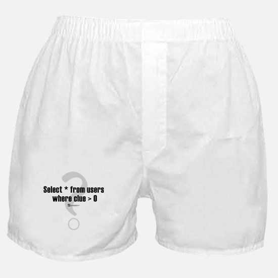 Select * from users -  Boxer Shorts