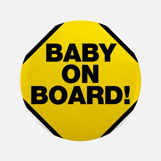 """Baby On Board 3.5"""" Button"""