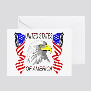 'Bald Eagle'  Greeting Cards (Pk of 10)