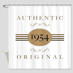 1954 Authentic Original Shower Curtain