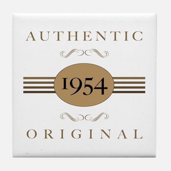 1954 Authentic Original Tile Coaster