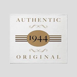 1944 Authentic Original Throw Blanket