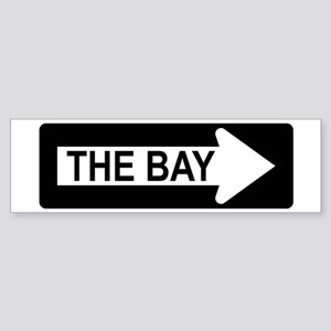 The Bay Way Bumper Sticker