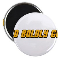 "To Boldy Go 2.25"" Magnet (100 pack)"