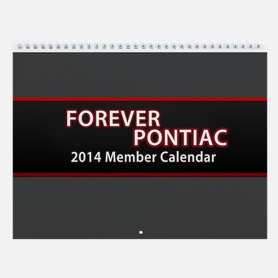 2014 Forever Pontiac Wall Calendar