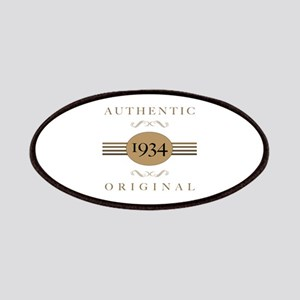 1934 Authentic Original Patches