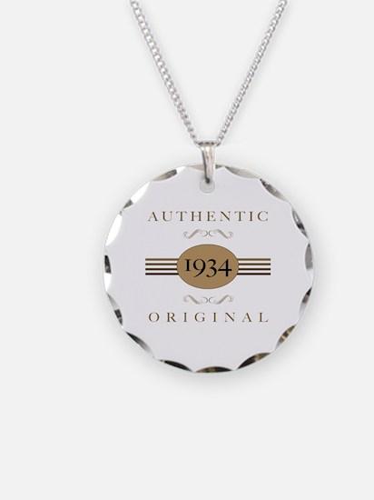 1934 Authentic Original Necklace