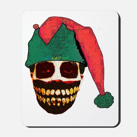 Monster Christmas Mousepad