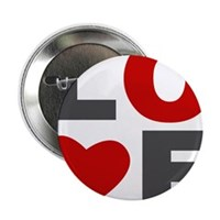 "Love Heart 2.25"" Button (100 pack)"