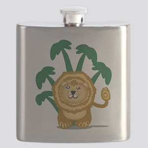 Cute Lion Flask