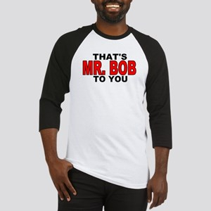 MR. BOB Baseball Jersey